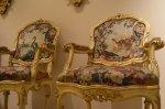 barokowe krzesła
