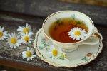 filiżanka białej herbaty